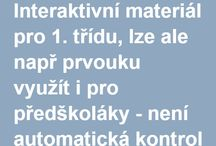 material pro 1.tridu / material pro prvnaky