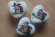 Sajat / Felted soap