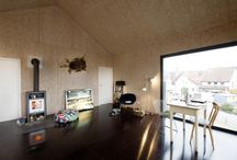 plywood + osb / interior