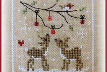 Chritmas cross stitch ❤️