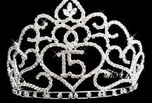 Quinceanera Tiaras / Lovely Quinceanera tiaras for her Sweet 15 celebration.