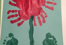 Fleur empreintes