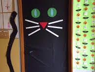 Puertas decoradas para halowen