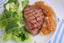 Secondi / La ricetta nel blog http://cresciutiapastasciutta.blogspot.it/2013/11/pomodori-di-fine-stagione-crema-di.html