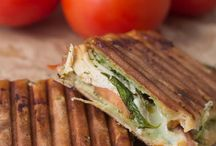 Panini og sandwiches / panini med kylling