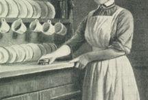 Victorian/Edwardian female servants
