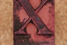 ~X~  marks the spot / the Letter ~X~ / by Sarah Sally Keyton Dixon