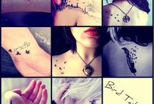 Tattoos and Piercings / by Alanna Pitchford