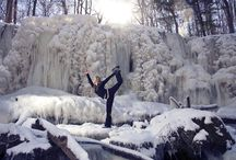 yoga photography inspiration / Beautiful yoga, yoga in nature,  inspiration, learn / by Stacey Hunter