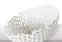 white ceramic s