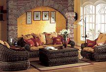 Rattan furniture / Ratanový nábytek