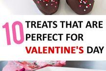 snacks valentines day