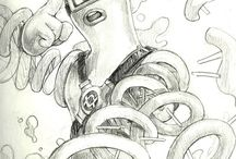 Arms dessins