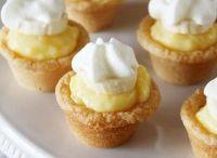 Cookies brownies mini tarts
