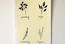 Herbs/Flowers tattoo