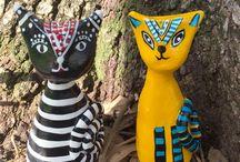 Lesley Chandler Clay Sculpture