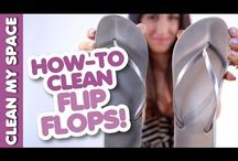Flip Flop/Shoe Storage & Care / I heart flip-flops.