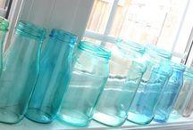 Mason Jars, Ball Jars, Jelly Jars.... / Jars, of course!