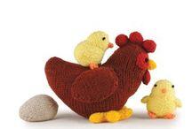 Amigurumi csirke és minden ide való