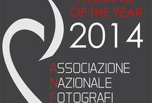 WEDDING OF THE YEAR 2014 ANFM ITALY / L'ALBUM CLASSIFICATO PRIMO IN ITALIA NEL 2014