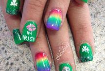 St. Patricks Day Nails / by Amanda Vogt