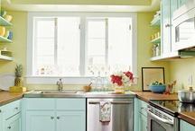 Kitchen Fabulous / Pretty kitchen space & knick knacks / by Jana Randall