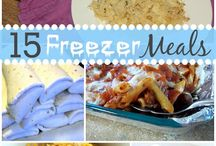 Freezer Meals / Tons of great ideas to freeze ahead of he time!