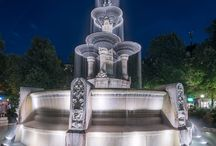 Brunnen / Fountains / Beautiful Fountains from Bavaria and all over the World