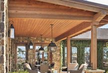Covered deck soffit