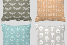 Cosy cushions / You can never have too many