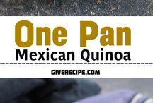 Quinoa dishes / Savoury