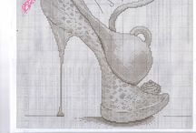 cross stitch shoes
