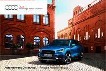 Q2 / Zarówno w terenie, jak i na równej miejskiej jezdni, Audi Q2 wyśmienicie spełnia swoje zadanie. Ten kompaktowy SUV jest samochodem miejskim do codziennej jazdy i rekreacji.