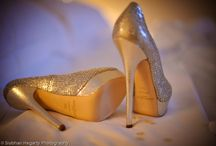 Wedding day shoes / A selection of shoes for brides, grooms and bridesmaids.