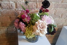 My Flower Arrangements  / by Amy Singleterry-Saunders