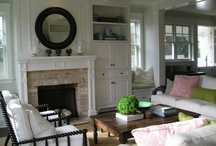 Home. Living Rooms & Sitting areas / by J M D