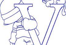 Wzory haftu maszynowego