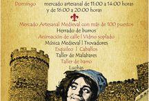 X JORNADAS DE ARTESANIA MEDIEVAL EN CORNAGO / Cornago es un pueblo de La Rioja, su castillo, edificado sobre una colina entre montes, destaca en lo alto del municipio junto a la parroquia titular, mientras que las casas se superponen en la ladera sureste buscando el sol de mediodía y sirve de marco incomparable para las Jornadas de Artesanía Medieval que se celebran el 17 y 18 de octubre.