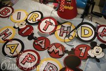 Mickey Party Ideas / by Angie Parrish