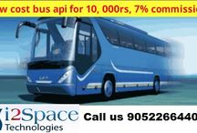 Low cost bus api for 10, 000Rs, 7% commission