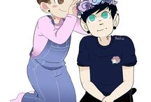 * OTP -- Phan * / From real life -- not yet canon