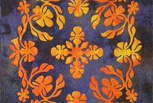 Hawaiian Quilts made with Pacific Rim Quilt Patterns / Hawaiian Quilt Patterns and Inspiration