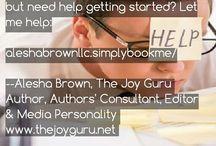 Alesha Brown LLC  (Editing/Authors Coaching)
