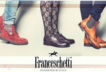 Franceschetti Woman / The shoe collection for women who love masculine chic style!