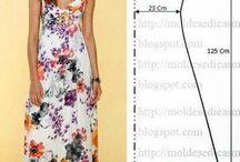 szabásminta női ruha
