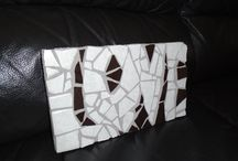 Chum Creations Mosaic / Tile Mosaic art pieces I create