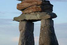 stones, earthworks, ancient wonders / by Susan Kamps