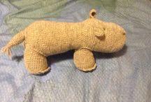 Murmurin värkkäilyt -7- Tillverkad av Mormor / Animals for the Baby