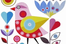 Pájaros y bichos de jardin
