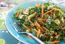 * kale / greens salads / by Yonit Shahar